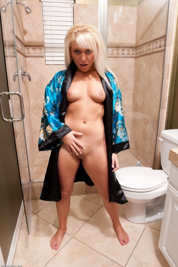 Sexy Pics in the Bathroom (ATK Galleria)